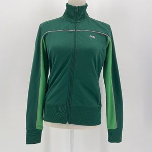 Le Tigre green and pink vintage track jacket